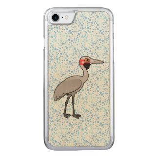 Birdorable Brolga Carved iPhone 8/7 Hülle