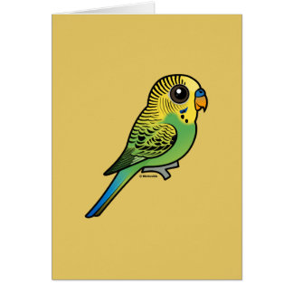 Birdorable Budgerigar Karte
