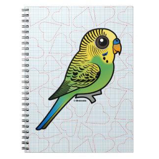 Birdorable Budgerigar Spiral Notizblock