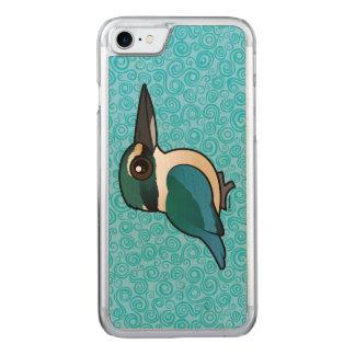 Birdorable heiliger Eisvogel Carved iPhone 8/7 Hülle