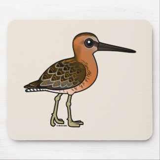 Birdorable Kurz-berechnete Dowitcher Mousepad