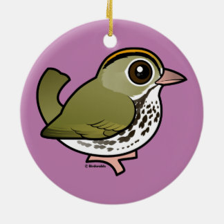Birdorable Ovenbird Keramik Ornament