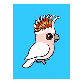 Birdorable rosa Cockatoo Postkarte
