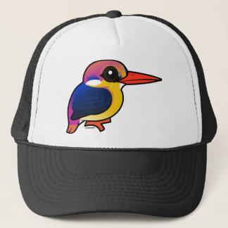 Birdorable schwarzrückiger Zwerg-Eisvogel Truckerkappe
