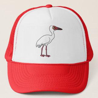 Birdorable Sibirier-Kran Truckerkappe