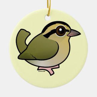 Birdorable Wurm-Essen Trällerer Keramik Ornament