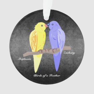 Birds of a Feather - Papageien - Ornament