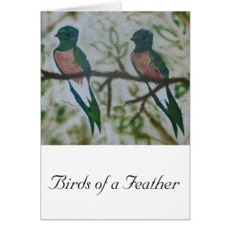 Birds of a Feather, vertikal Karte
