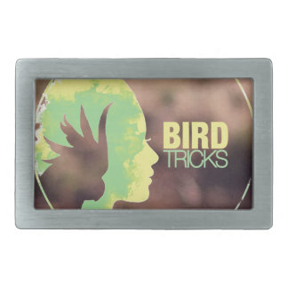 BirdTricks Logo (Moab-Ausgabe) Rechteckige Gürtelschnalle