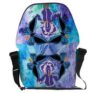 Birdwing Schmetterling auf Iris-Bote-Tasche Kuriertasche
