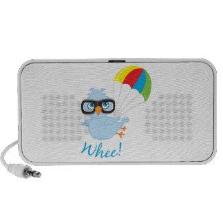 Birdy Fallschirm Laptop Speaker