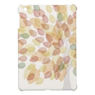 Birken-Baum in den Herbstfarben iPad Mini Hülle