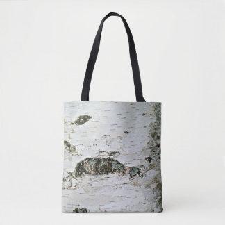 Birken-Baum-Stamm-Natur-Tasche Tasche