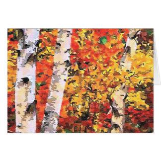 Birken-Bäume Karte