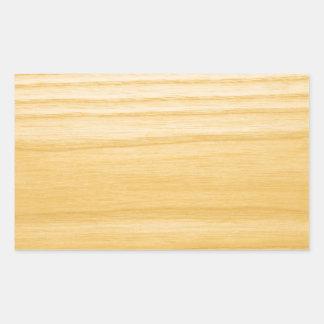 Birken-Hintergrund Rechrteckaufkleber