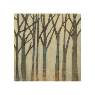 Birken-Linie I Holzdruck