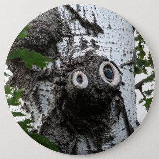 Birken-Soul-Baum-magische Runder Button 15,3 Cm