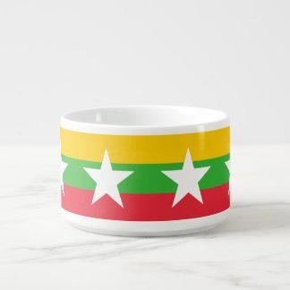 Birma-Flagge Kleine Suppentasse