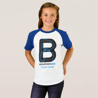 Birmingham bin ich Raglan-Shirt T-Shirt