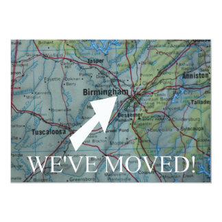 Birmingham haben wir neue Adressen-Mitteilung 12,7 X 17,8 Cm Einladungskarte