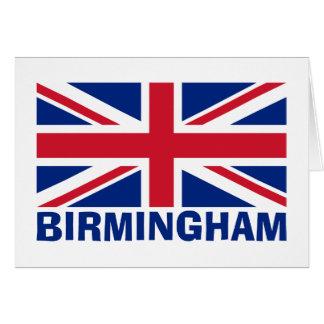 Birmingham im Blau Karte
