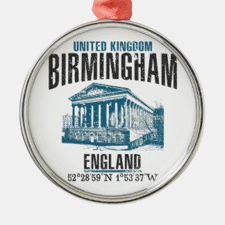 Birmingham Silbernes Ornament
