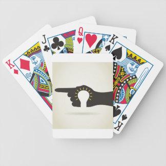 Birne in einer Hand Bicycle Spielkarten
