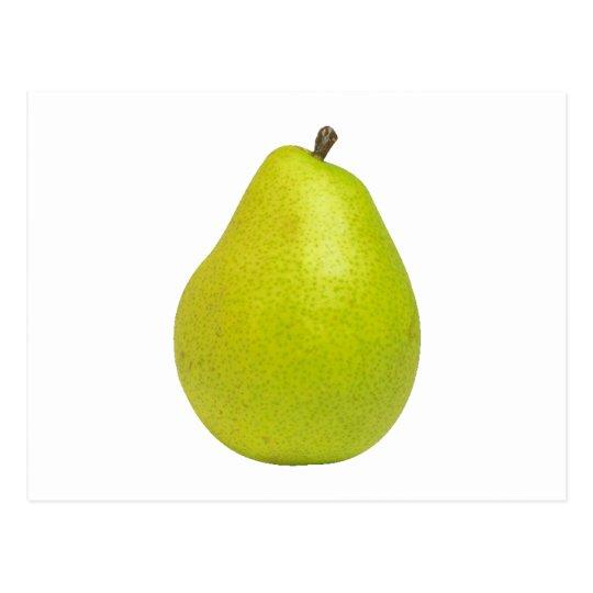 Birne pear postkarte