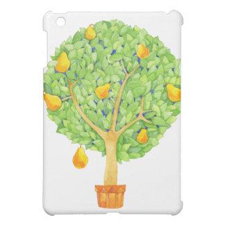 Birnen-Baum-Kasten ausgebufftes MattiPad Minifall iPad Mini Hülle