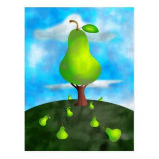 Birnen-Baum Postkarte