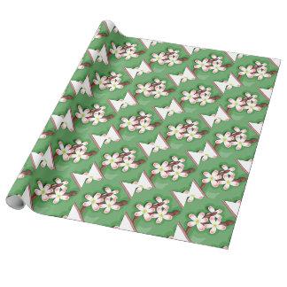 Birnen-Blüte Geschenkpapier