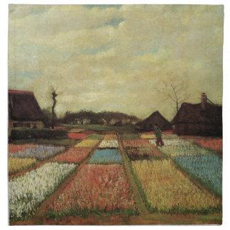 Birnen-Felder durch Vincent van Gogh. Serviette
