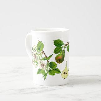 Birnen-Knochen-China-Tasse (Sie können besonders Porzellantasse