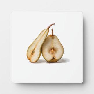 Birnen - meine süße und perfekte Hälfte Fotoplatte