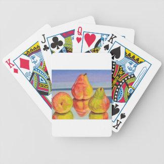 Birnen-Reflexion Bicycle Spielkarten