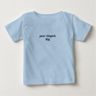 Birnenförmig - britische Phrase Baby T-shirt