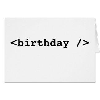 <birthday /> karte