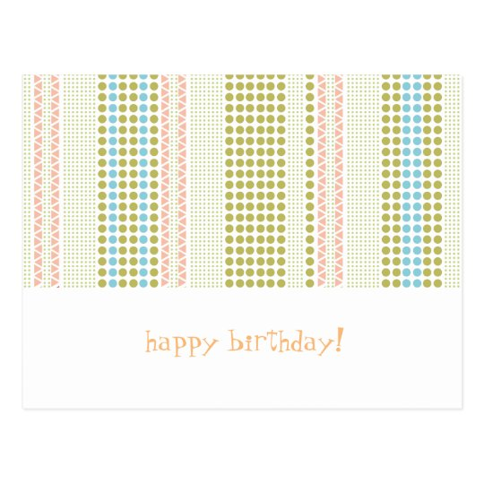 birthdaycard postkarte