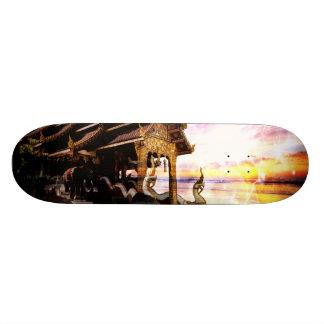 Bis das Ende der Zeit 18,4 Cm Mini Skateboard Deck