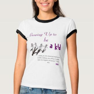Bis wachsen, ein Kind T-Shirt