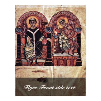 Bischof Braulio und Isidore von Sevilla durch 21,6 X 27,9 Cm Flyer