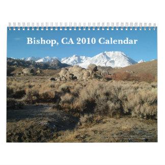 Bischof, Kalender CAs 2010