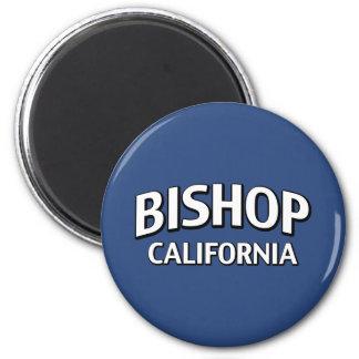 Bischof Kalifornien Runder Magnet 5,1 Cm