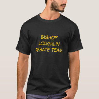 Bischof Loughlin Debatten-Team T-Shirt