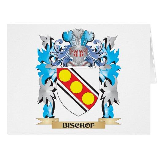 Bischof Wappen Grußkarten
