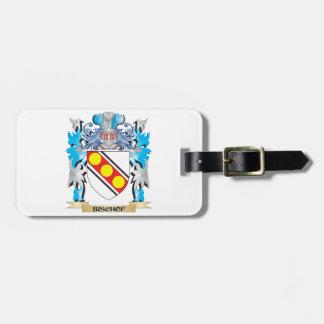 Bischof Wappen Gepäck Anhänger