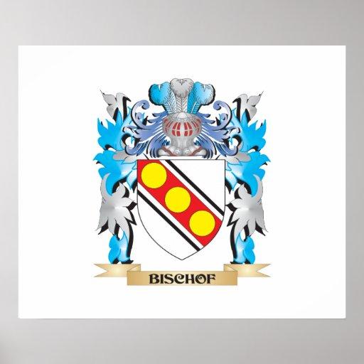 Bischof Wappen Plakatdruck