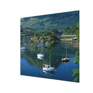 Bischofs-Bucht, Loch Leven, Ballachullish, Gespannte Galerie Drucke