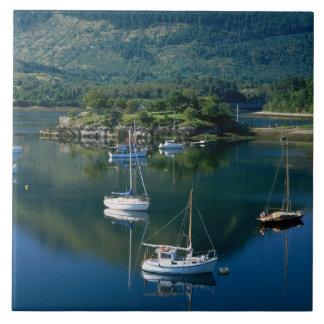Bischofs-Bucht, Loch Leven, Ballachullish, Große Quadratische Fliese