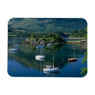 Bischofs-Bucht, Loch Leven, Ballachullish, Vinyl Magnete